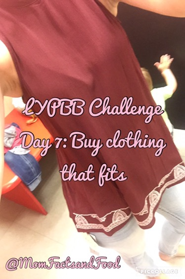 LYPBB Challenge Day 7: Buy Clothes That Fit